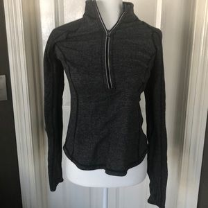 Lululemon Gray Half Zip